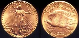 La Moneda màs Cara del Mundo. 1933-augustus-saint-gaudens-gold-coin
